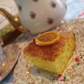 Church Cookbook Classics:  Ice Pick Lemon Cake