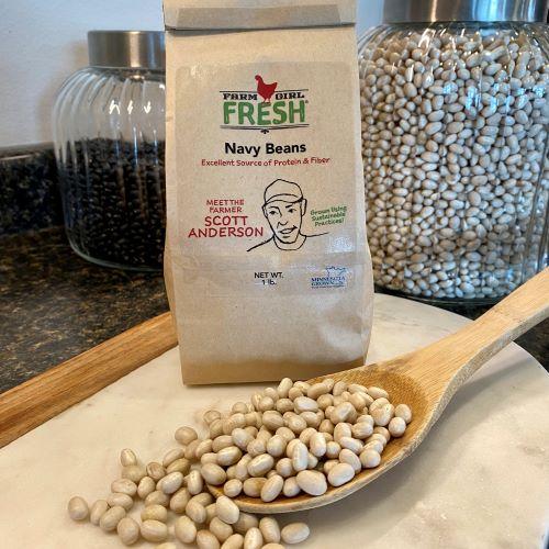 Navy Beans Farm Girl Fresh