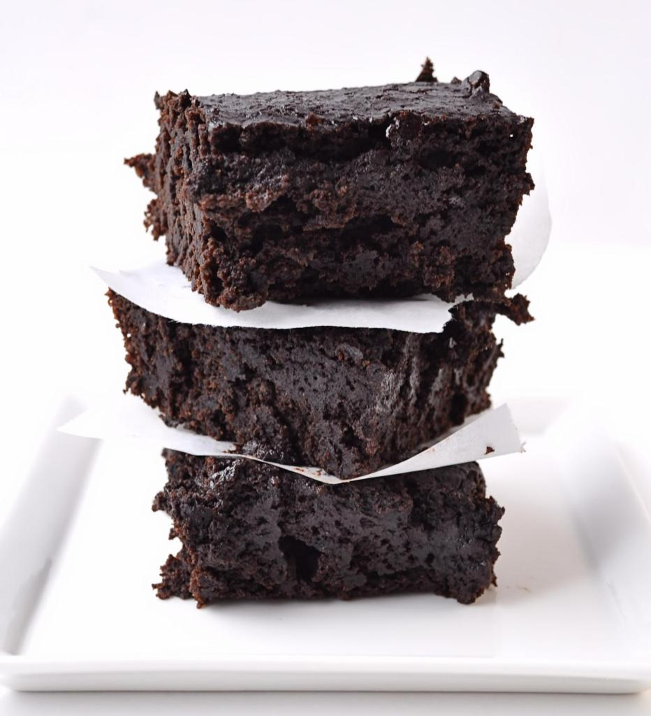Dark Chocolate Stout Brownies