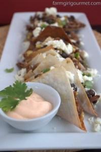 Oxtail Tacos via farmgirlgourmet.com