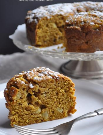 Pumpkin Apple Cake