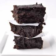 Dark Chocolate Stout Brownies via farmgirlgourmet.com