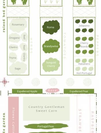 Garden Plan 2013 via farmgirlgourmet.com