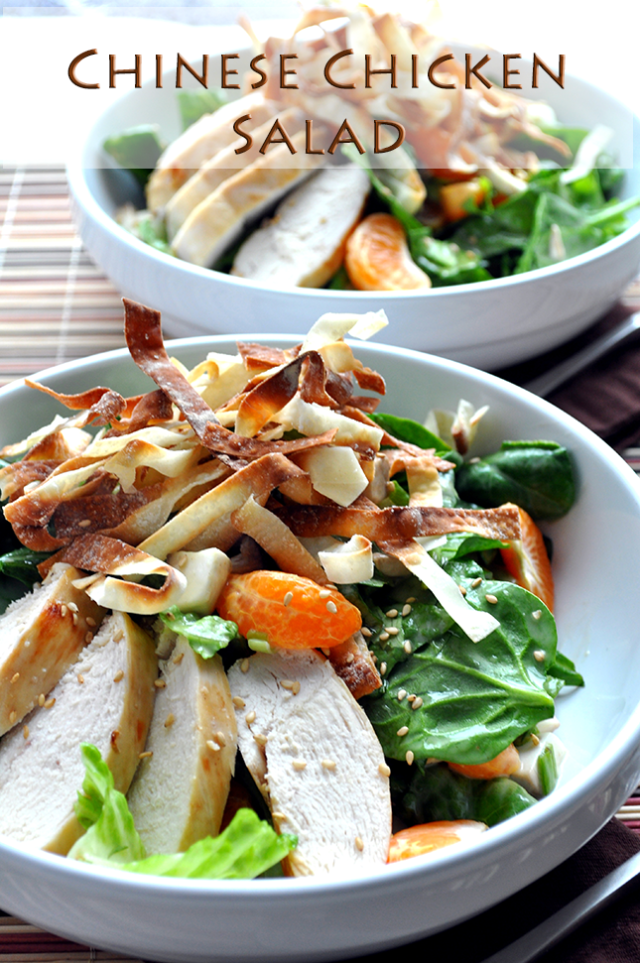 Chinese Chicken Salad | FarmgirlGourmet.com