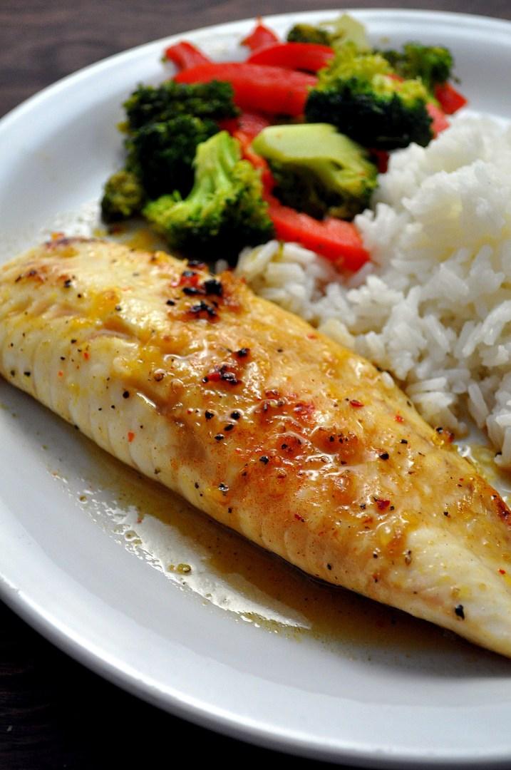 Sweet & Spicy Tilapia   farmgirlgourmet.com