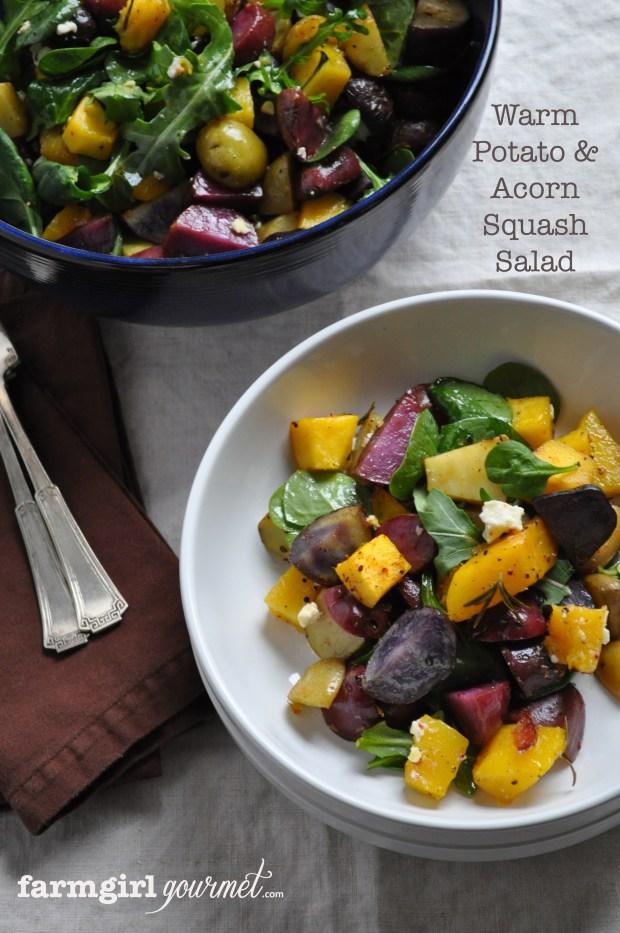 Warm Potato Salad - farmgirlgourmet.com