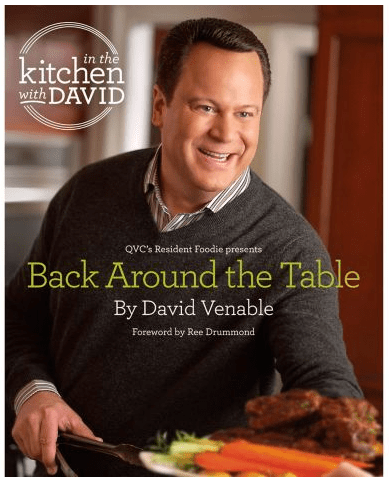 David Venable QVC Back Around the Table | farmgirlgourmet.com
