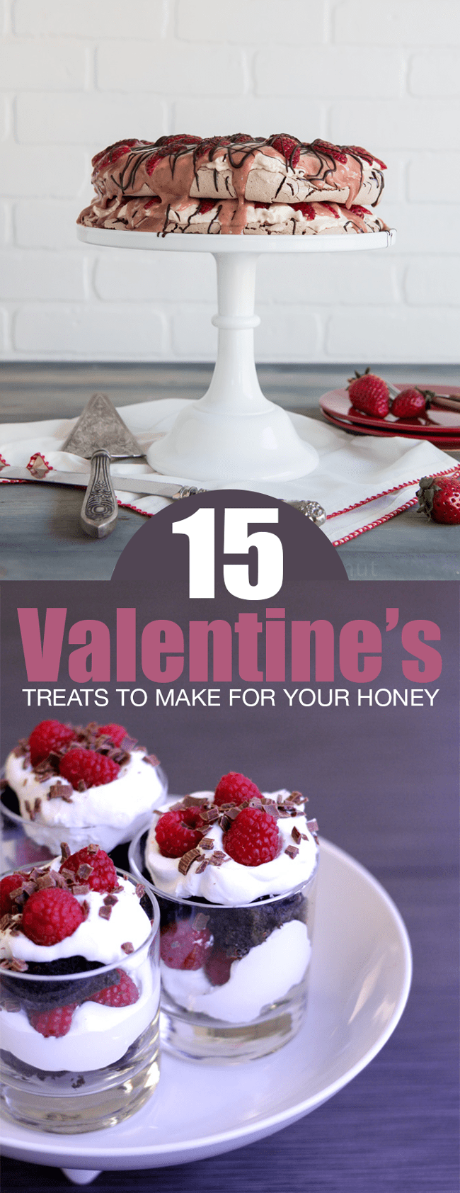 15 Valentine's Day Treats to Make For Your Honey | farmgirlgourmet.com