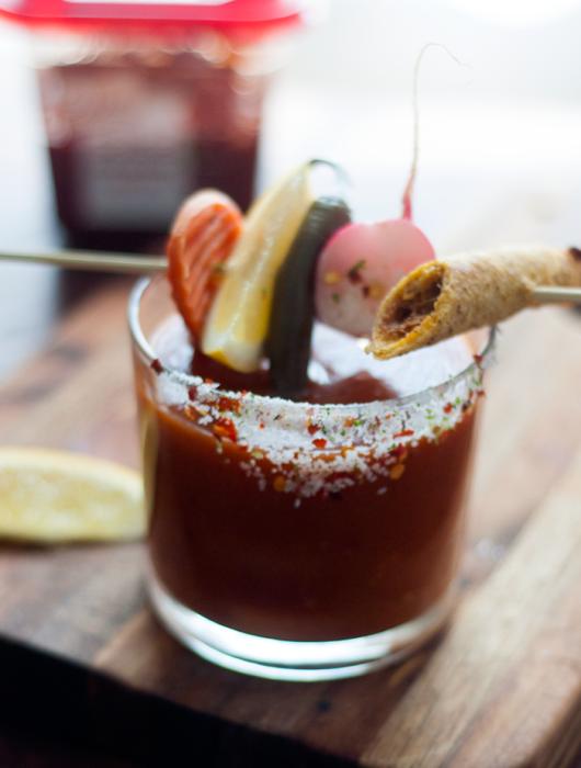 Bloody Maria Cocktail | farmgirlgourmet.com