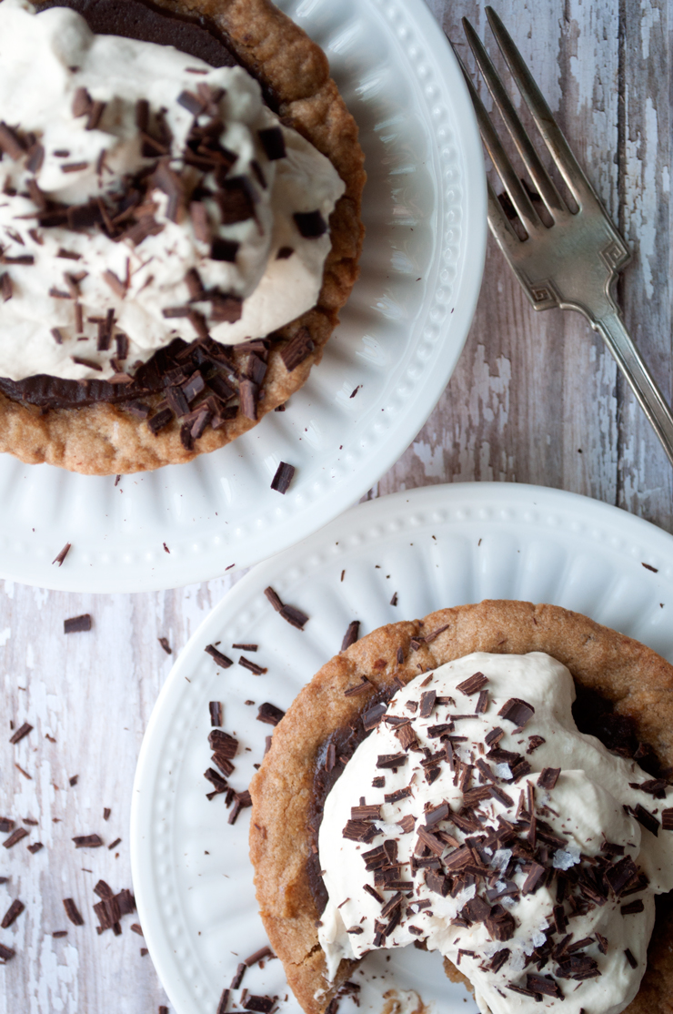 Chocolate Chip Cookie Pie | Farmgirl Gourmet