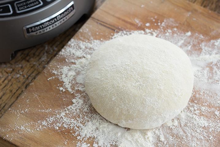 bread in the food processor