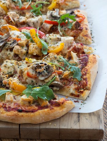 Easy Pizza Dough Recipe | farmgirlgourmet.com