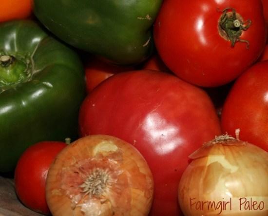 Paleo Salsa Ingredients