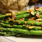 Seasoned Almond Asparagus