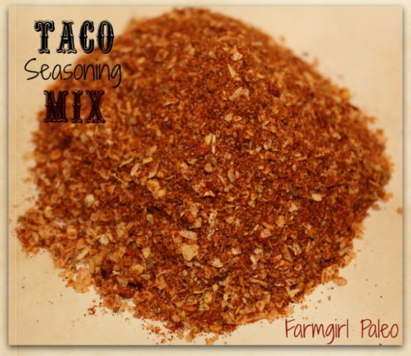 Paleo Taco Seasoning Mix