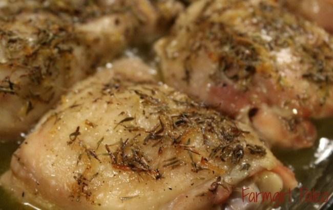 Paleo Zesty Lemon Thyme Chicken