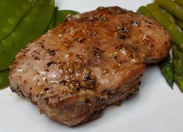 Maple Balsamic-Glazed Pork Chops (Paleo)