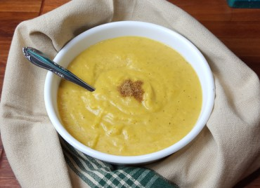 Spiced Winter Squash Soup (Paleo)