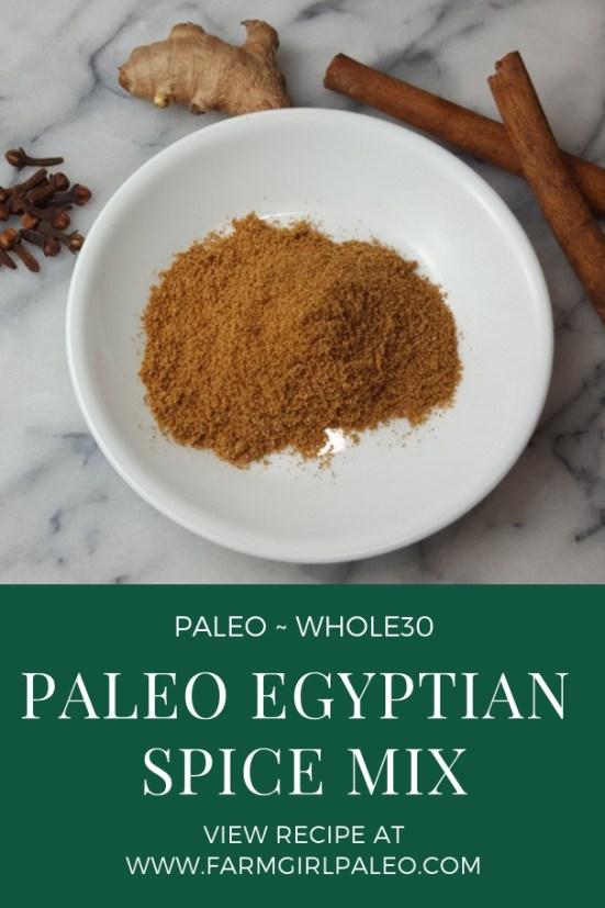 Paleo Egyptian Spice Mix