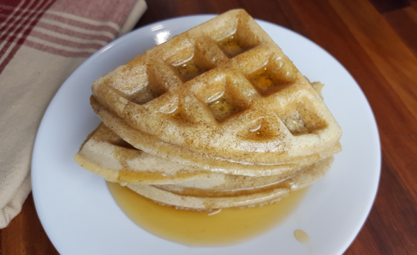 Simple Paleo Waffles are just that. Simple.