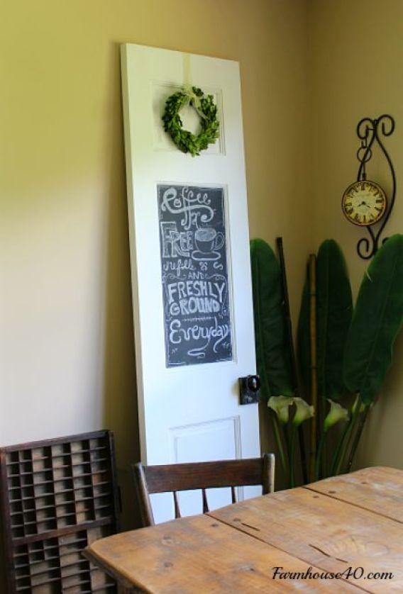 diy-chalk-magnet-board-door