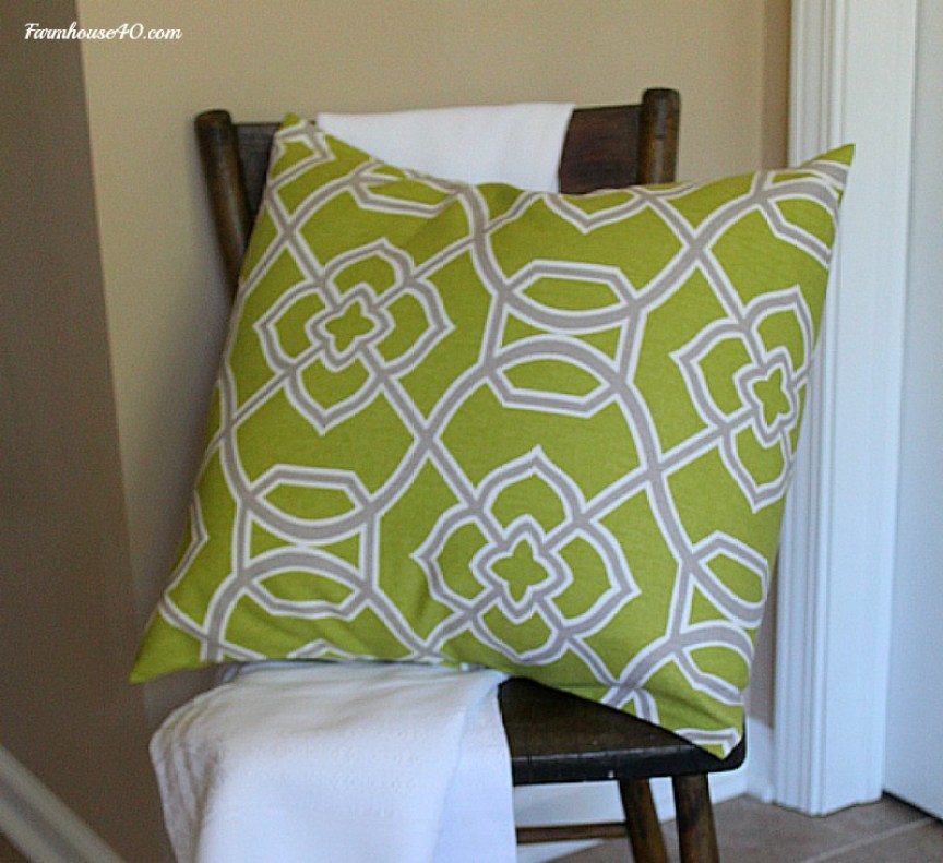 add pillow for color