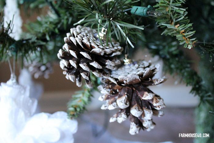 pinecones on the tree