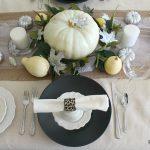 Elegant Farmhouse Thanksgiving Table – Create & Share