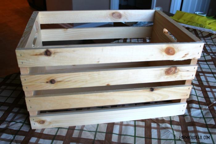 wooden crate challenge