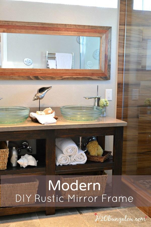 Modern-DIY-rustic-mirror-frame-tutorial-2-www.H2OBungalow