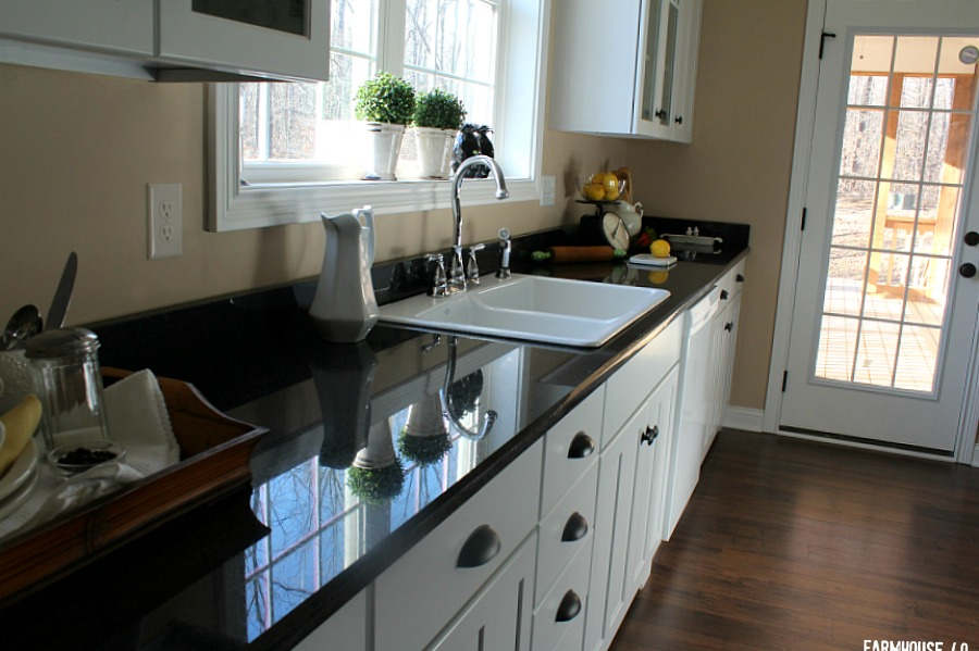 farmhouse kitchen with white cabinets 3745