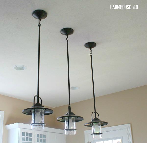farmhouse island lighting pendants