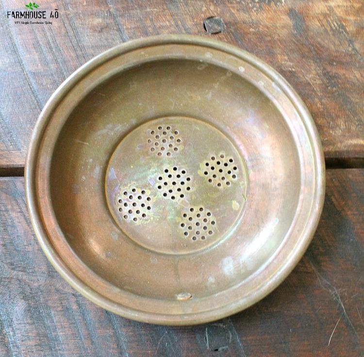 Colander bowl