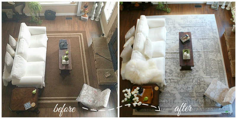 Area Rug Review things to consider from the farmhouse40.com
