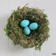 Bird Nest Shady Hollow Handmade