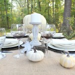 Fall Tablescape Farmhouse Style