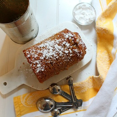 Persimmon Bread In A Tin Can
