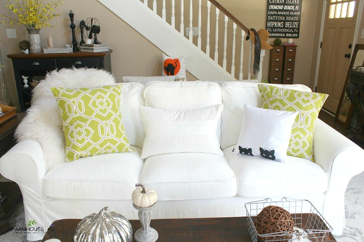 fall farmhouse home tour