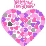 Love Quote Heart Printable