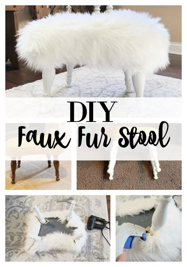 DIY-Fur-Stool