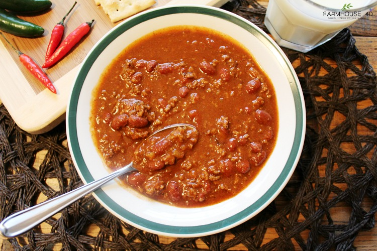 FARMHOUSE CHILI RECIPE