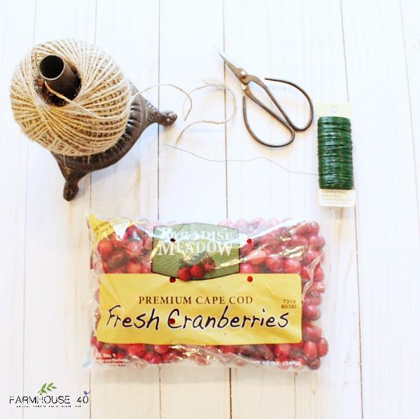 cranberry-wreath