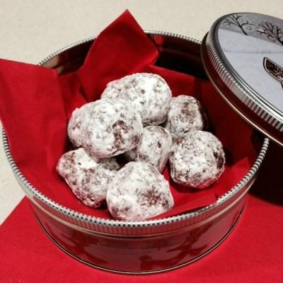 Chocolate Rum Bites – Cookie Recipe