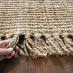 Natural Fiber Hand Woven Jute Rug