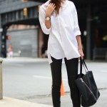 6 Chic Ways To Wear A White Button Shirt