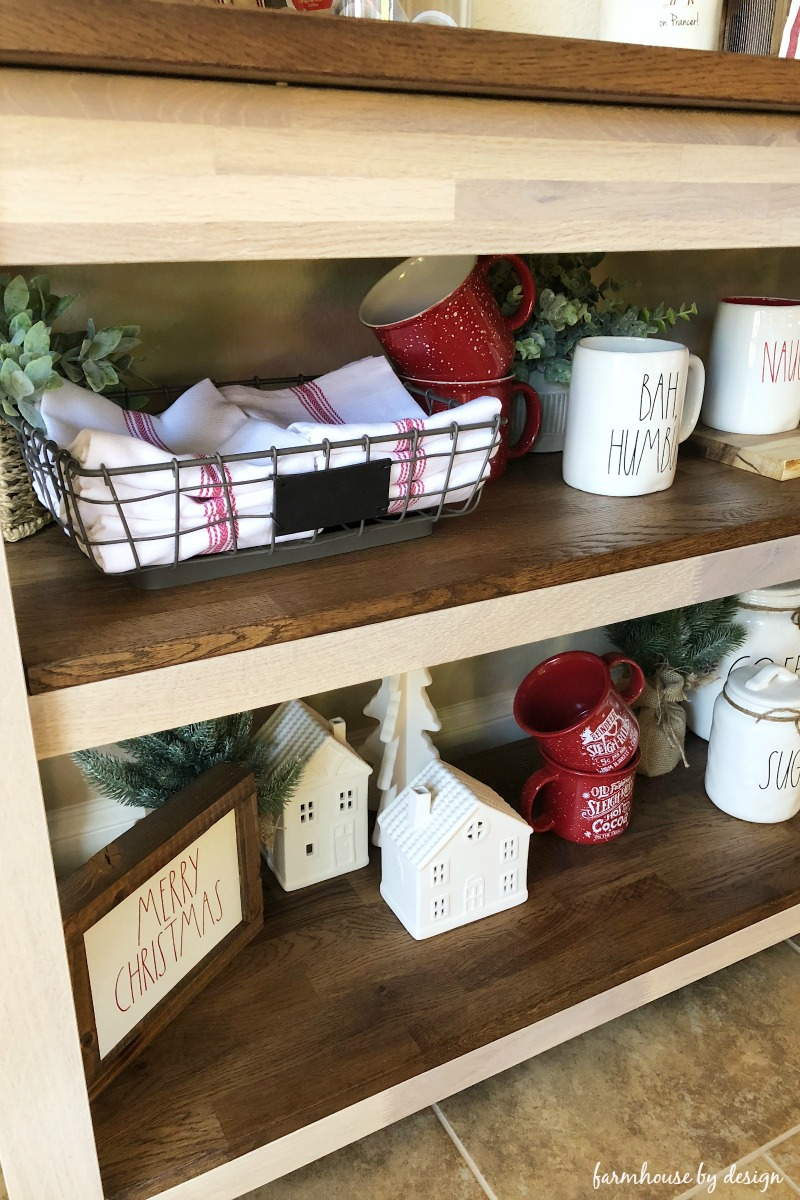 Coffee Bar Shelves