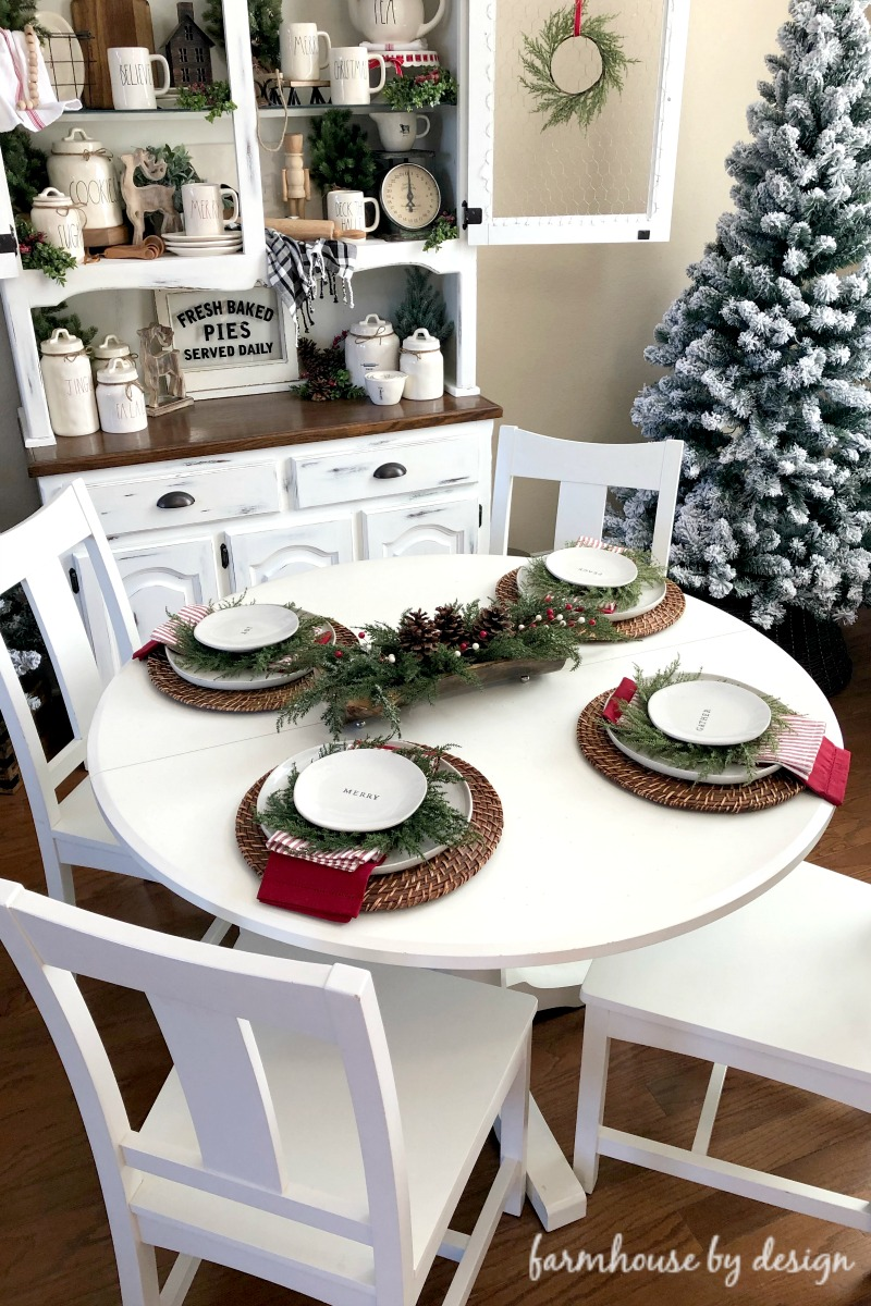 Table Setting Side View
