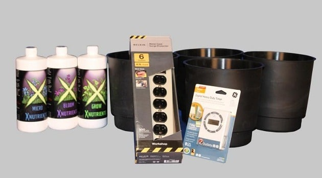 hydroponics start kit