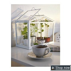 Small White Greenhouse By Ikea