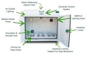 using your indoor grow box